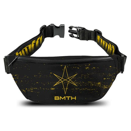 Bring Me The Horizon   Bum Bag   Mantra Straps from Rocksax | Buy Now from   å £14.99