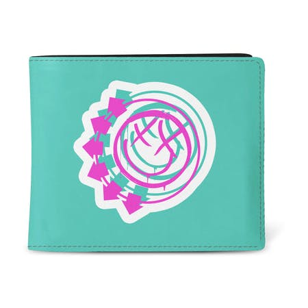 Blink 182 Wallet - Smile Green