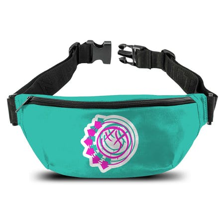 Blink 182   Bum Bag   Smiley Green from Rocksax | Buy Now from   å £14.99