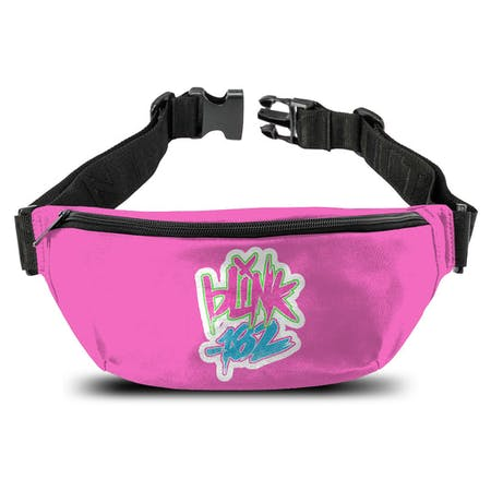 Blink 182   Bum Bag   Logo Pink from Rocksax | Buy Now from   å £14.99