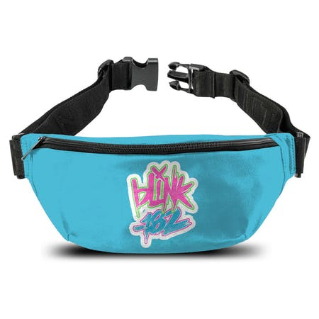 Blink 182   Bum Bag   Logo Blue from Rocksax | Buy Now from   å £14.99