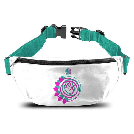 Blink 182   Bum Bag   Smiley White from Rocksax | Buy Now from   å £14.99