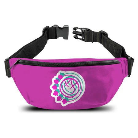 Blink 182   Bum Bag   Smiley Pink from Rocksax | Buy Now from   å £14.99