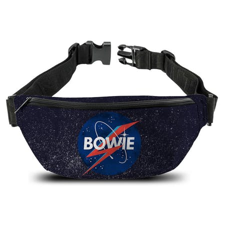 David Bowie   Bum Bag  NASA x Aladdin Sane from Rocksax | Buy Now from   å £14.99