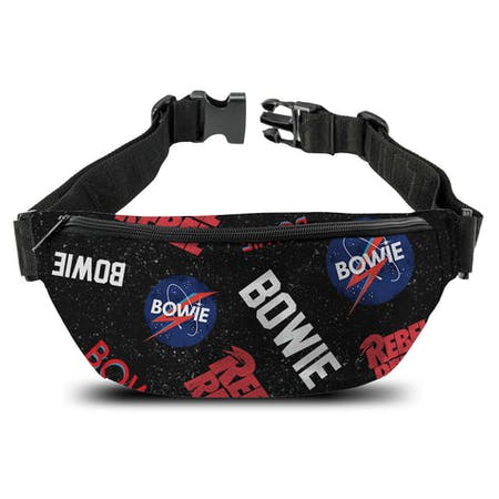 David Bowie   Bum Bag  Rebel Rebel from Rocksax | Buy Now from   å £14.99