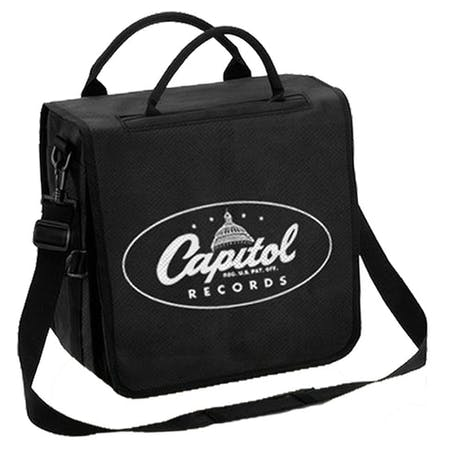 Capitol Vinyl Backpack   from Rocksax | Buy Now from   å £44.99