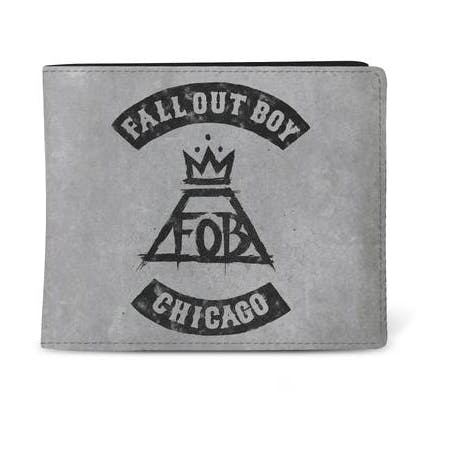 FALL OUT BOY - WALLET -  CHICAGO from Rocksax | Buy Now from   å £9.99