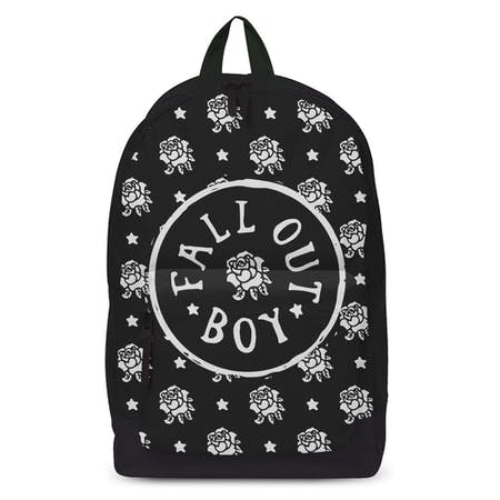Rocksax Fall Out Boy Backpack - Flowers