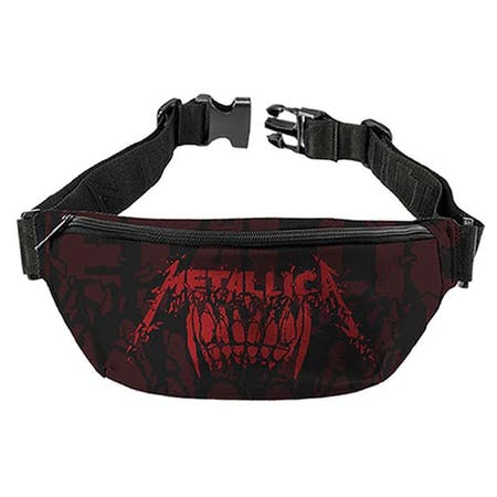 Metallica   Bum Bag   Teeth from Rocksax | Buy Now from   å £14.99