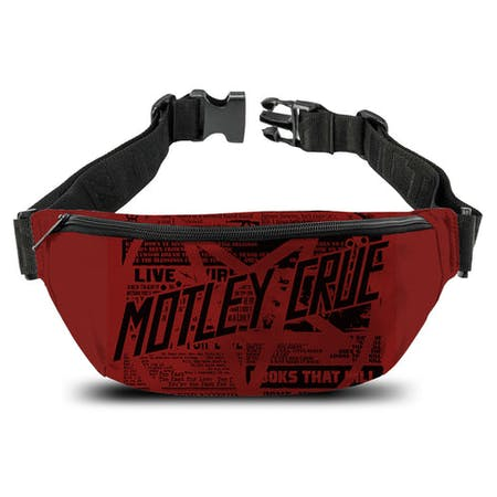 Motley Crue   Bum Bag   Girls Live from Rocksax | Buy Now from   å £14.99