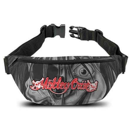 Motley Crue   Bum Bag   Dr Feelgood Face from Rocksax | Buy Now from   å £14.99