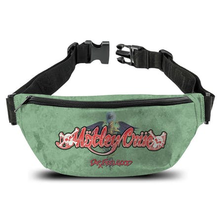 Motley Crue   Bum Bag   Dr Feelgood from Rocksax | Buy Now from   å £14.99