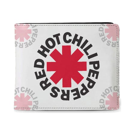 Red Hot Chili Peppers - Wallet - Asterix White