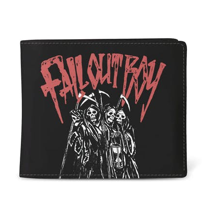 Fall Out Boy Reaper Gang Wallet from Rocksax | Buy Now from   å £9.99