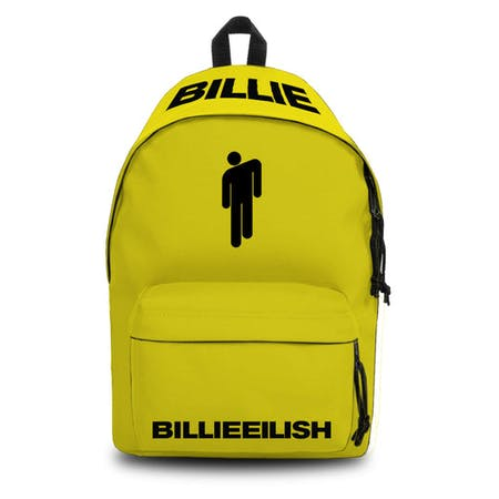 Billie Eilish Daypack - Bad Guy Yellow