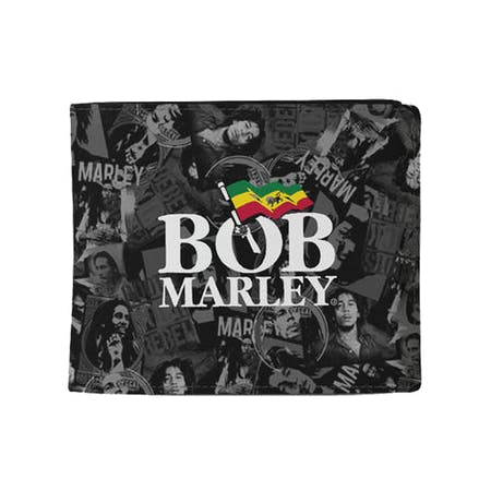 Bob Marley Wallet - Collage