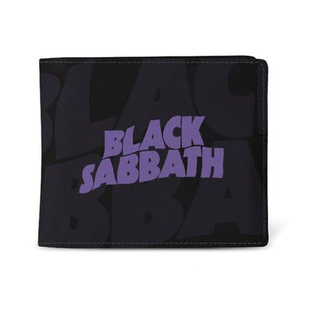 Black Sabbath Wallet - Logo