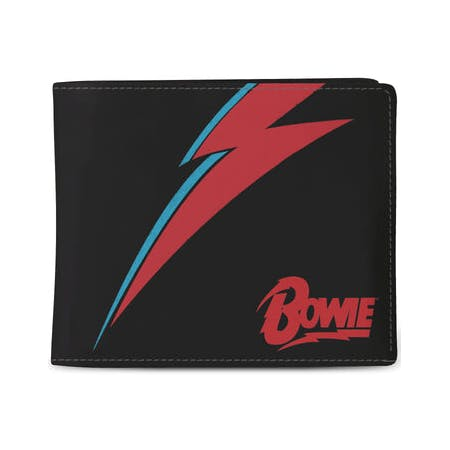 David Bowie - Wallet - Lightning Black