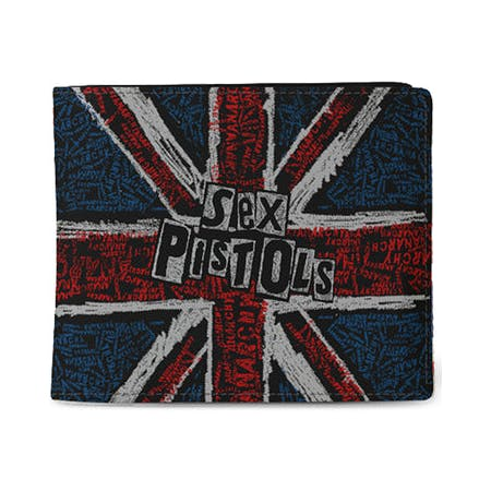 Sex Pistols - Wallet - UK Flag
