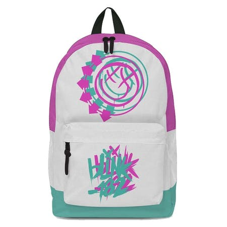 Blink 182 Backpack - Smile White