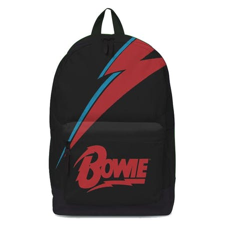 David Bowie Backpack - Lightning Black