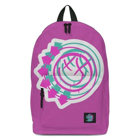 Blink 182 Backpack - Smile Pink