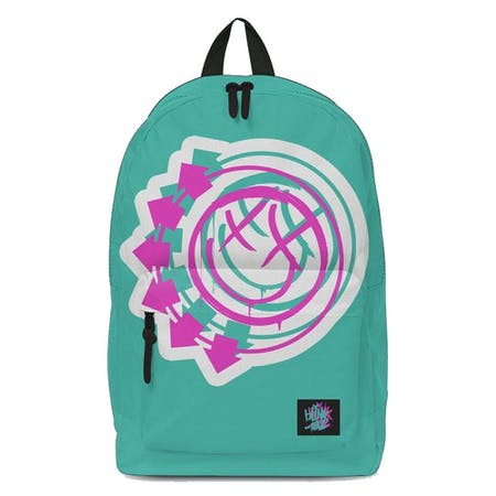 Blink 182 Backpack - Smile Green