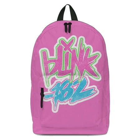 Blink 182 Backpack - Logo Pink