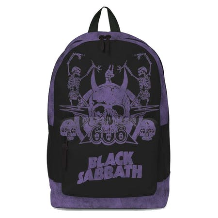 Black Sabbath Backpack - Skeleton Rucksack (SALE)